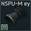 NSPU-M Dürbün vizör lastiği