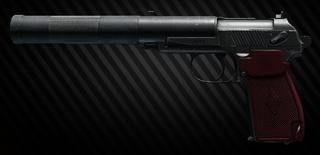 PB 9 x 18 PM schallgedämpfte Pistole