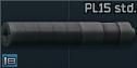 PL-15 9x19mm sound suppressor