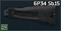 AK-74M polymer stock (6P34 Sb.15)