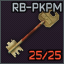RB-PKPM marked key
