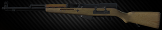 Simonov félautomata karabély SKS 7,62x39 vadászfegyver változata