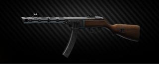 PPSh-41 7.62x25 submachine gun
