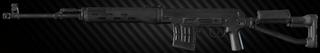 SVDS 7.62x54R sniper rifle