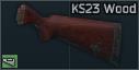 Приклад деревянный для КС-23