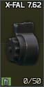 SA-58/FAL 7.62x51 X-FAL 50-round drum magazine